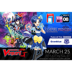 VGEGTD08-CARDFIGHT VANGUARD G TRIAL DECK 8: VAMPIRE PRINCES