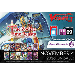 VGEGTD09-CARDFIGHT VANGUARD G TRIAL DECK 9: TRUE ZODIAC TIM