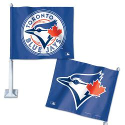 WCBFLCFTBJ-CAR FLAG BLUE JAYS