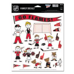 WCHDEFS811CF-FAMILY DECAL FLAMES(12)