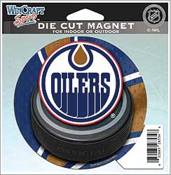 WCHMADC4X5EO-DIECUT MAGNET OILERS(12)