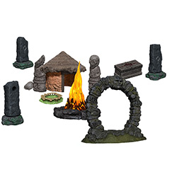 WK4D73878-WIZKIDS 4D JUNGLE SHRINE