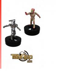 WKMH70961-MARVEL HC TABAPP IRON MAN 2PK