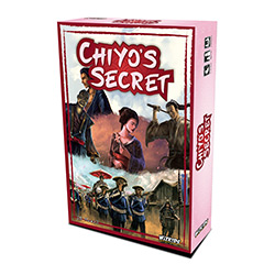 WK73458-CHIYO'S SECRET BOARD GAME