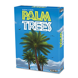 WK73764-PALM TREES CARD GAME