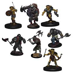 D&D ICONS MONSTER PACK VILLAGE RAIDERS