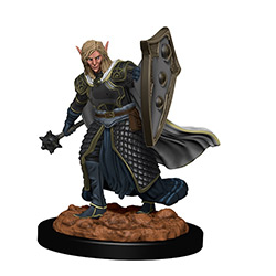 WKDD93008-D&D ICONS PREM FIG ELF MALE CLERIC