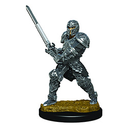 WKDD93017-D&D ICONS PREM FIG MALE HUMAN FIGHTER
