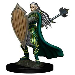 WKDD93025-D&D ICONS PREM FIG ELF PALADIN FEMALE