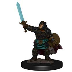 WKDD93027-D&D ICONS PREM FIG DWARF PALADIN FEMALE