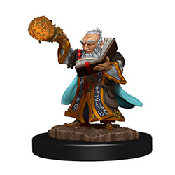 WKDD93038-D&D ICONS PREM FIG GNOME WIZARD MALE
