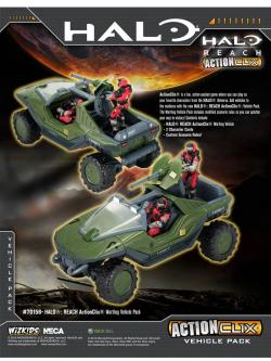 WKHAC70156-HALO REACH AC WARTHOG VEHICLE