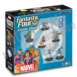 MARVEL HEROCLIX FANTASTIC FOUR STARTER SET