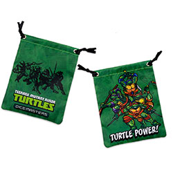 WKTMNTDM72228-TMNT DM DICE BAG TMNT