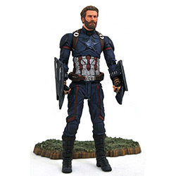 MARVEL SELECT AVENGERS 3 CAPTAIN AMERICA AF