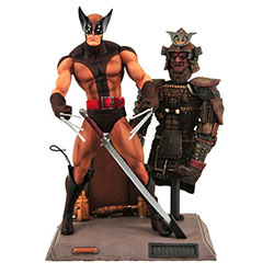 YDSTMSWOLBC2-MARVEL SELECT WOLVERINE BROWN2