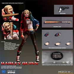 YMZ76410-ONE:12 SS HARLEY QUINN FIGURE