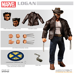 YMZ76534-ONE:12 COLLECTIVE FIGURE LOGAN