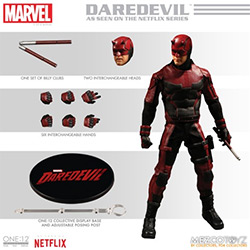 YMZ76650-ONE:12 DAREDEVIL FIGURE