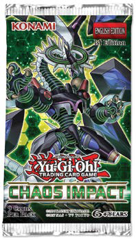 YUGIOH CHAOS IMPACT BOOSTER FRENCH